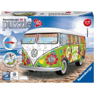 Ravensburger 12532 Puzzle 3D VW Bulli T1 Hippie Edition 162 Teile - Bild 1