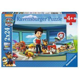 Ravensburger 09085 Puzzle Hilfsbereite Spürnasen 2x24 Teile - Bild 1
