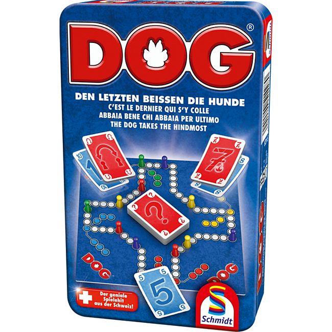 Schmidt Spiele DOG® Bring-Mich-Mit-Spiele in der Metalldose - Bild 1