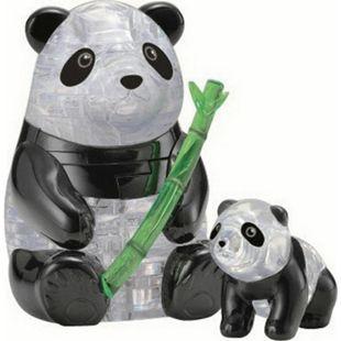 HCM 3D Crystal Puzzle Pandapaar 51 Teile - Bild 1