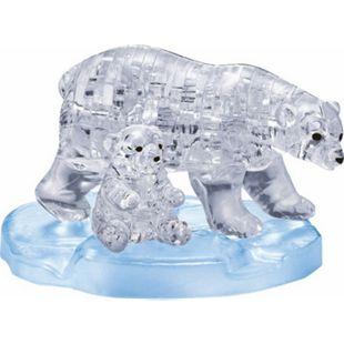 HCM Crystal Puzzle - Eisbärenpaar 40 Teile - Bild 1