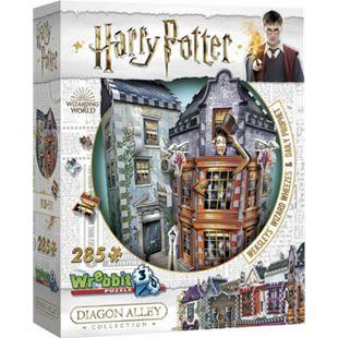 Wrebbit 3D Puzzle Puzzle 3D Harry Potter Weasleys zauberhafte Zauberscherze  & Der Tagesprophet 285 Teile - Bild 1