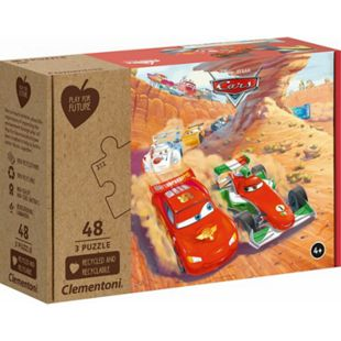 Clementoni Puzzle Play for Future - Cars 3 x 48 Teile - Bild 1