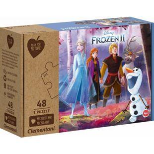 Clementoni Puzzle Play for Future - Frozen 2 3 x 48 Teile - Bild 1