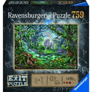 Ravensburger 15030 Puzzle EXIT Einhorn 759 Teile - Bild 1