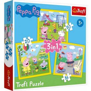 Beta Service 3 in 1 Puzzle # Peppa Pig - Bild 1