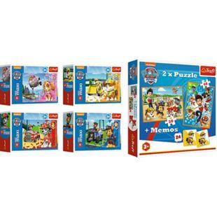 TREFL Paw Patrol Memo + 2in1 Puzzle (30 und 48 Teilen) + Minipuzzle (53 Teile) - Bild 1