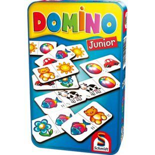 Schmidt Spiele Domino Junior Mitbringspiel in der Metalldose - Bild 1