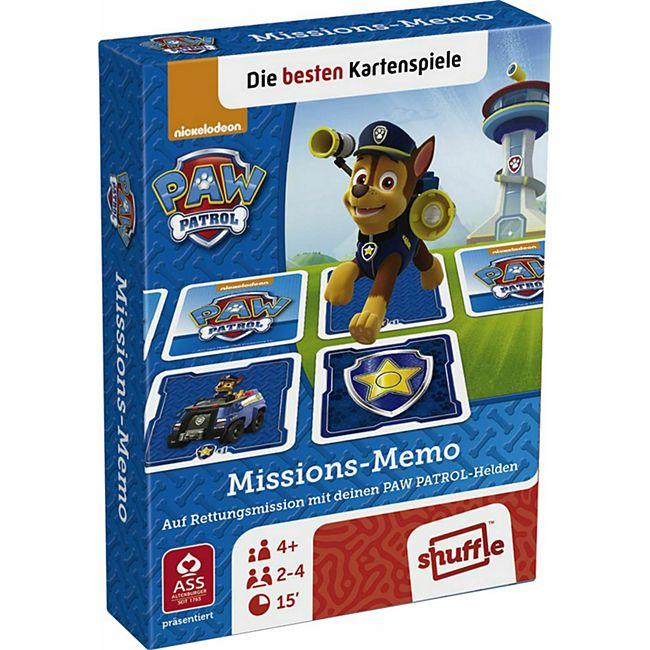 Spielkartenfabrik Altenburg ASS Paw Patrol - Missions Memo. Kartenspiel - Bild 1