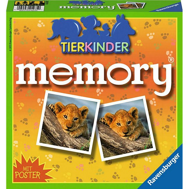 Ravensburger 21275 Tierkinder memory® - Bild 1