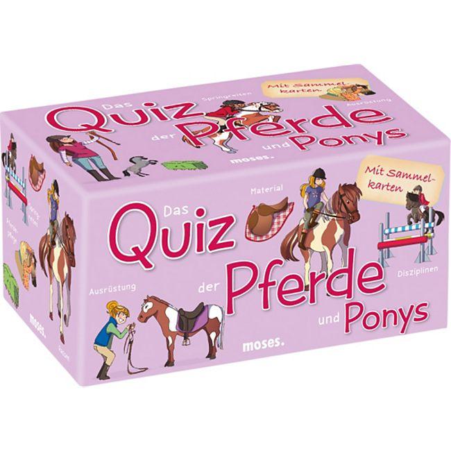 moses Das Quiz der Pferde und Ponys - Bild 1