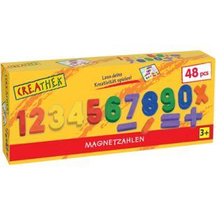 Creathek Magnet Zahlen und Zeichen 48-teilig - Bild 1