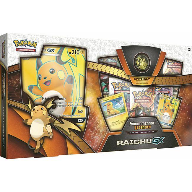 Pokémon Sonne & Mond 3.5 Raichu-GX Box - Bild 1