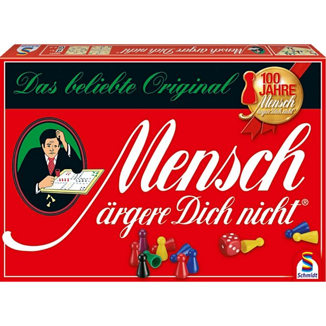 Schmidt Spiele Mensch ärgere dich nicht Standardausgabe - Bild 1
