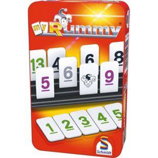 Schmidt Spiele MyRummy Mitbringspiel in der Metalldose - Bild 1