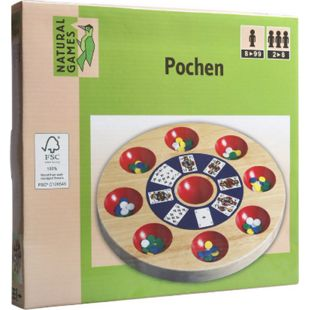 Natural Games Pochen 24,5 cm - Bild 1