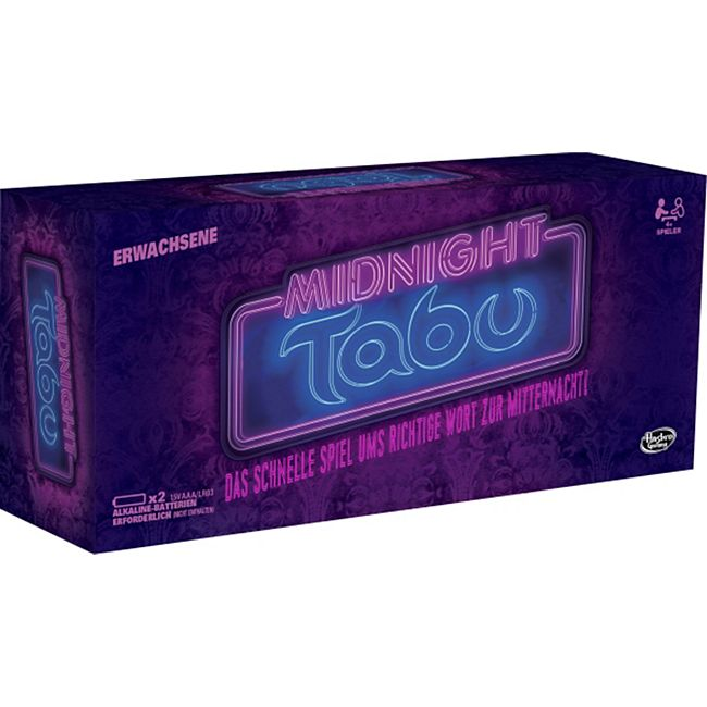 Hasbro Gaming Hasbro C0418100 Tabu Midnight - Bild 1