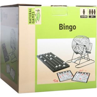 Natural Games Bingo mit Metallkorb - Bild 1