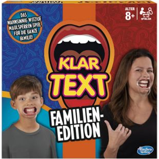 Hasbro Gaming Hasbro C3145100 Klartext Familien-Edition - Bild 1