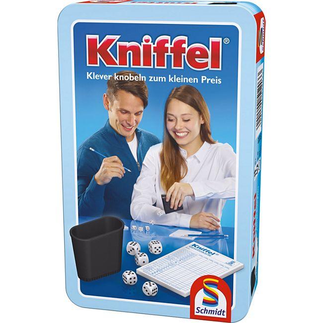 Schmidt Spiele Kniffel Mitbringspiel in der Metalldose - Bild 1