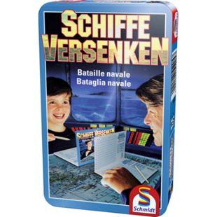 Schmidt Spiele Schiffe versenken Mitbringspiel in der Metalldose - Bild 1