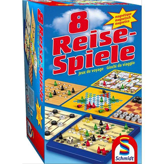 Schmidt Spiele 8 Reise-Spiele magnetisch - Bild 1