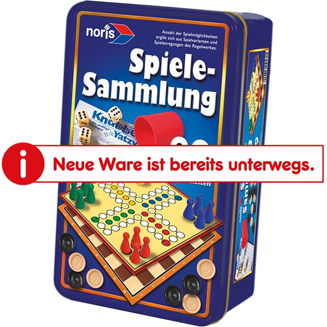 Noris Simba  99iger-Spielesammlung in Metallbox - Bild 1