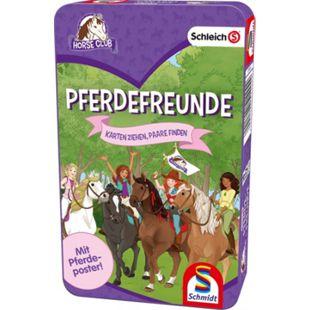 Schmidt Spiele Schleich Pferdefreunde Bring-Mich-Mit-Spiel in der Metalldose - Bild 1