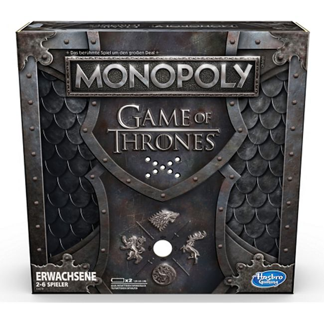 Hasbro Gaming Hasbro E3278100 Monopoly Game of Thrones - Bild 1