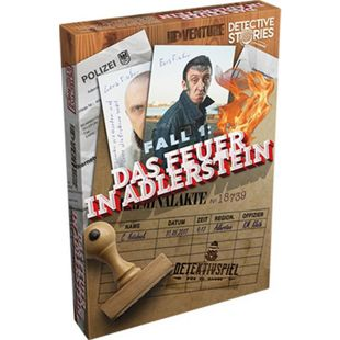 Asmodee Detective Stories - Fall 1: Feuer in Adlerstein - Bild 1