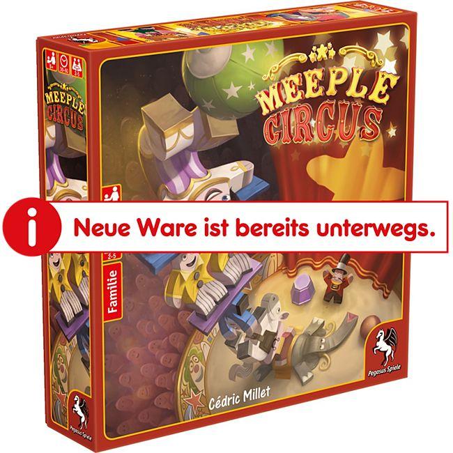 Pegasus Spiele Meeple Circus - Bild 1