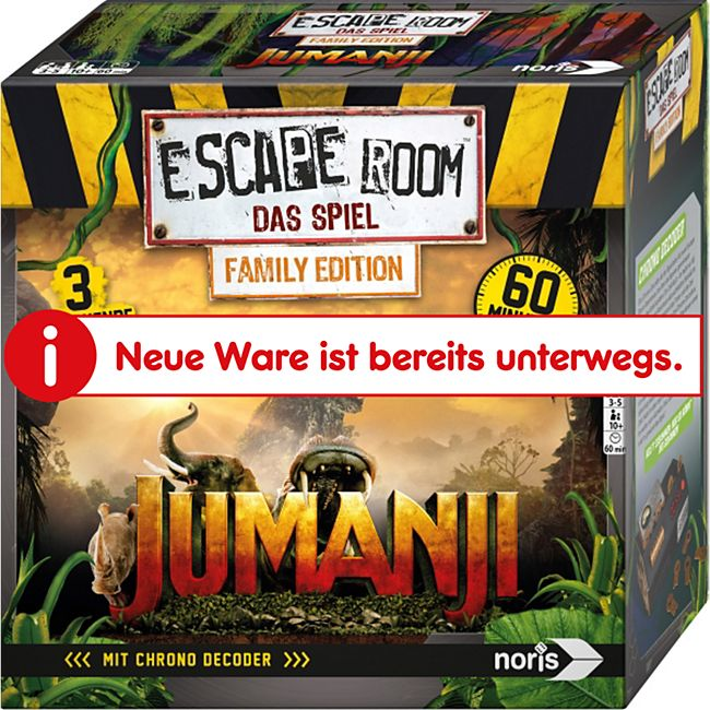 Noris Simba  Escape Room Jumanji - Bild 1