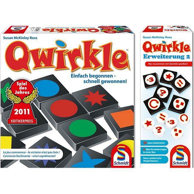 Schmidt Spiele Schmidt Spiiele Qwirkle Grundspiel plus Erweiterung 2 - Bild 1