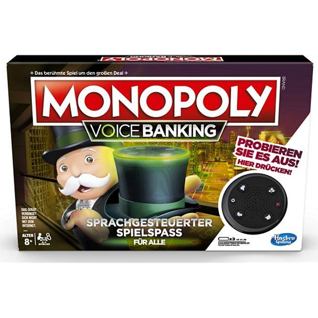 Hasbro Gaming Hasbro E4816GC2 Monopoly Voice Activated Banking - Bild 1