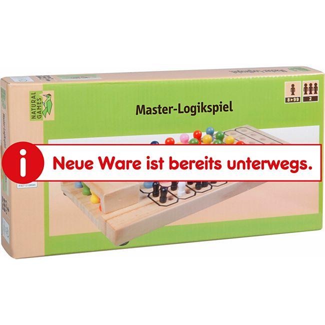 Natural Games Master-Logikspiel 27x12,5x4 cm - Bild 1