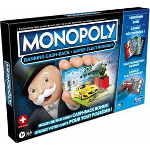 Hasbro Gaming Hasbro E8978149 Monopoly Banking Cash-Back Schweiz - Bild 1