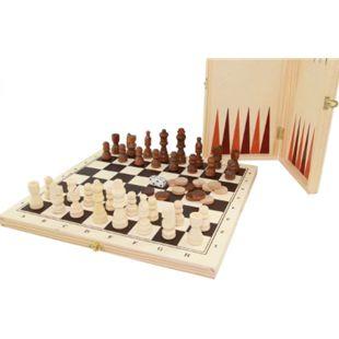 Weible Spiele Engelhart Schach, Dame+Backg.kassette - Bild 1