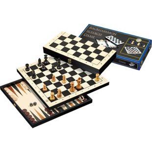 Philos Reise-Schach-Backgammon-Dame-Set - Bild 1