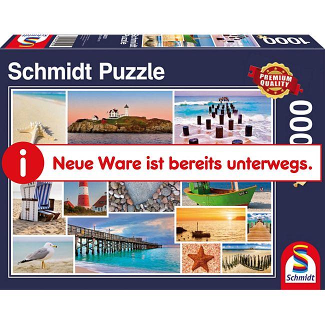 Schmidt Spiele Puzzle Am Meer 1000 Teile - Bild 1