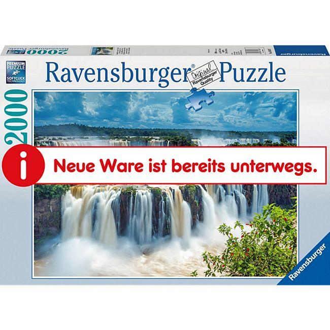 Ravensburger 16607 Puzzle Wasserfälle von Iguazu 2000 Teile - Bild 1