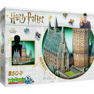 Wrebbit 3D Puzzle 3D-Puzzle Harry Potter Hogwarts Große Halle 850 Teile - Bild 1