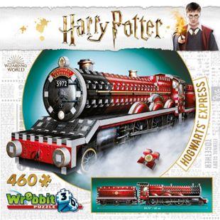 Wrebbit 3D Puzzle 3D-Puzzle Harry Potter Hogwarts Express Zug 460 Teile - Bild 1