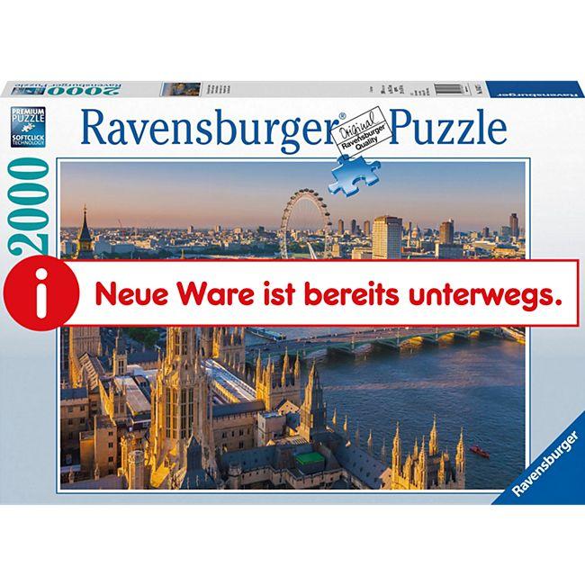 Ravensburger 16627 Puzzle Stimmungsvolles London 2000 Teile - Bild 1