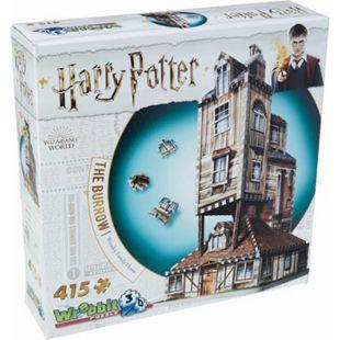 Wrebbit 3D Puzzle 3D-Puzzle Harry Potter Fuchsbau 415 Teile - Bild 1