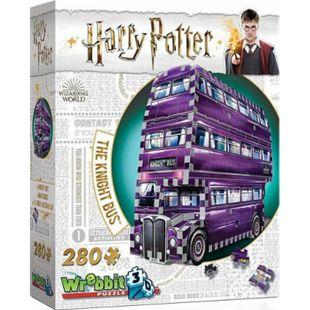 Wrebbit 3D Puzzle 3D-Puzzle Harry Potter Der Fahrende Ritter 280 Teile - Bild 1