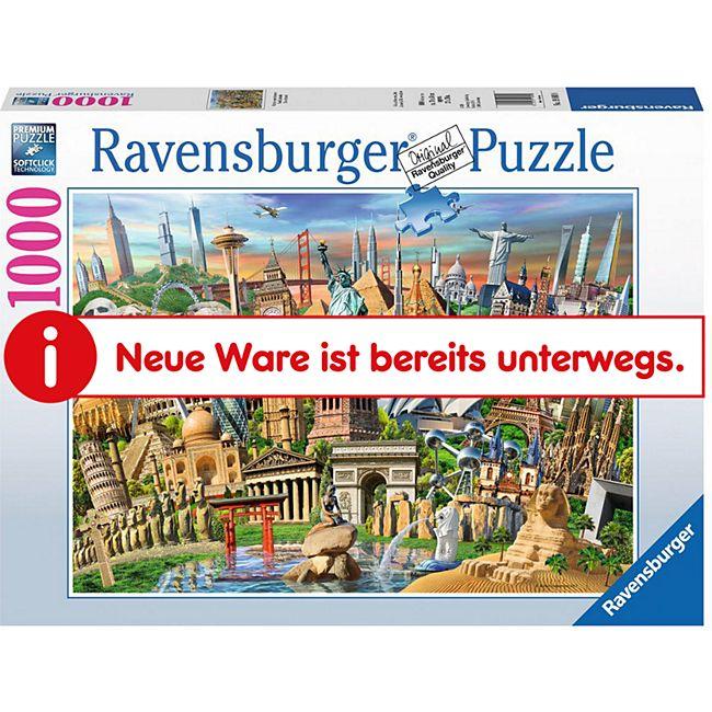 Ravensburger 19890 Puzzle: World Landmarks 1000 Teile - Bild 1