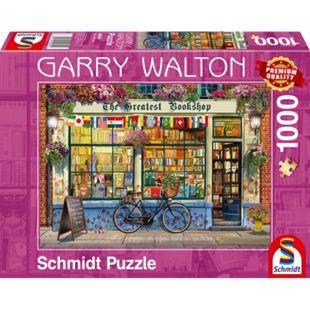 Schmidt Spiele Puzzle Garry Walton Buchhandlung, 1000 Teile - Bild 1