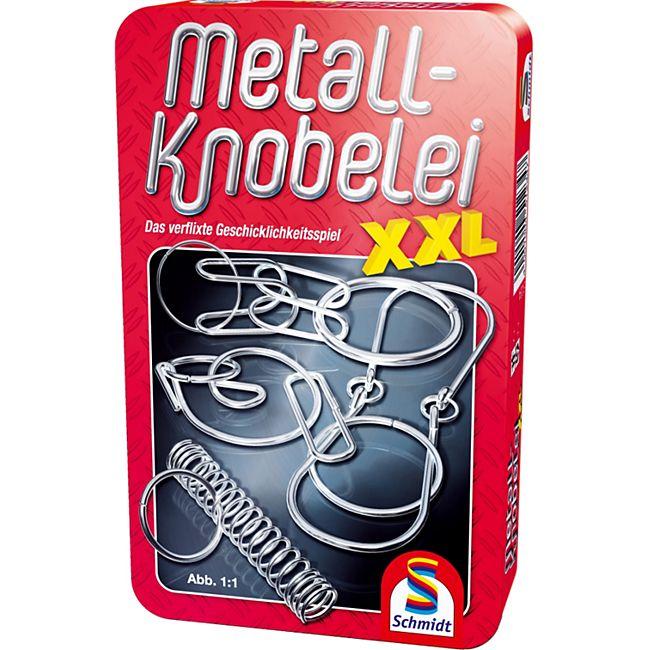 Schmidt Spiele Metall Knobelei XXL Mitbringspiel in der Metalldose - Bild 1