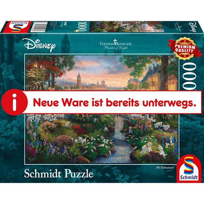 Schmidt Spiele Puzzle Thomas Kinkade Disney 101 Dalmatiner 1.000 Teile - Bild 1