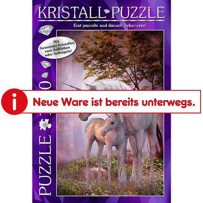 Günther M.I.C. Kristall Puzzle 1000 Teile Motiv: My Dreamland mit Swarovski Kristallen - Bild 1